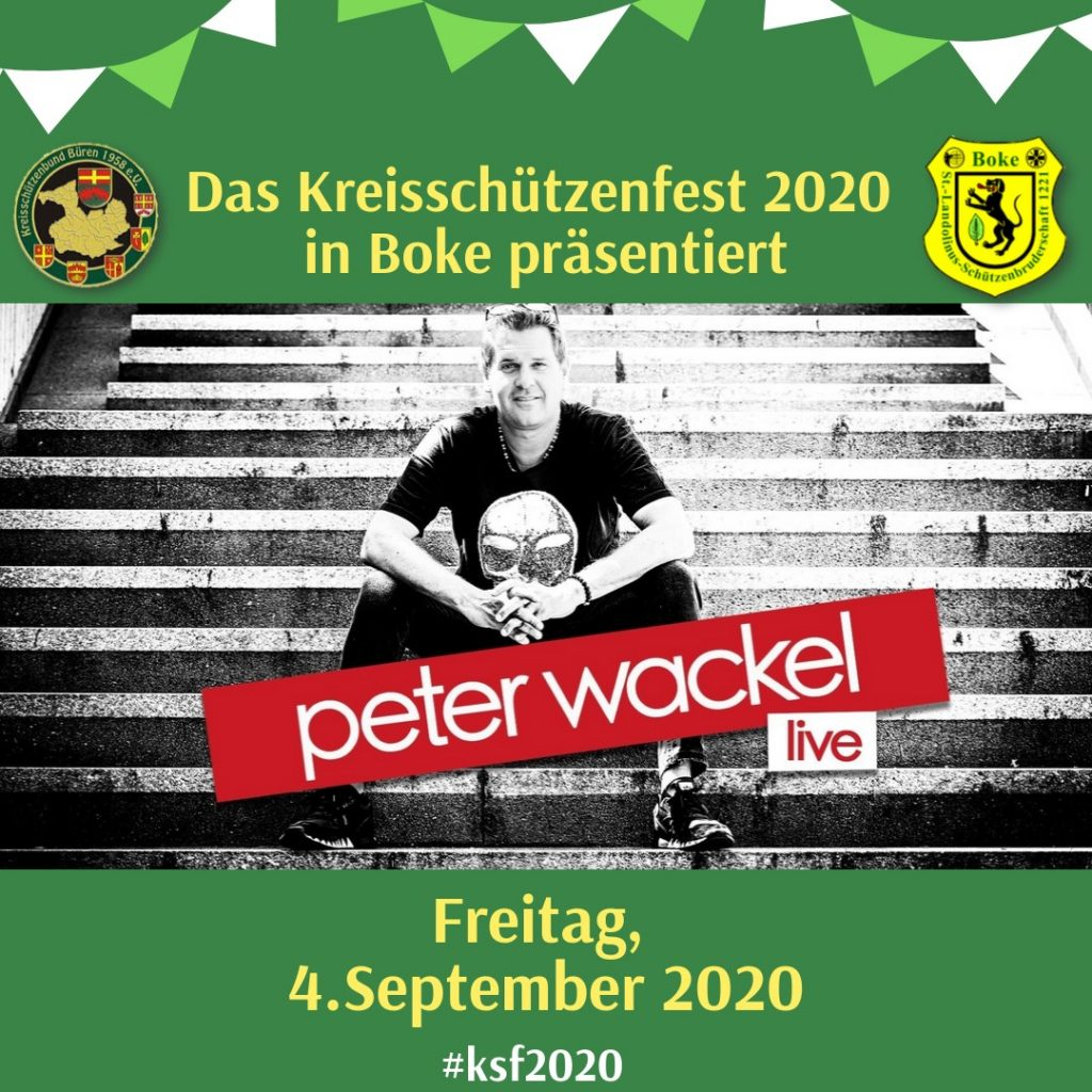 Peter Wackel LIVE zur KSF-Party